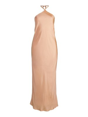 Maggie Marilyn pining for you halter midi dress