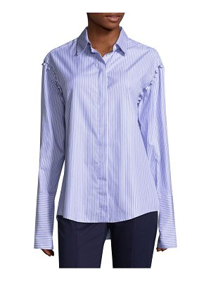 Maggie Marilyn pinstripe button-down shirt