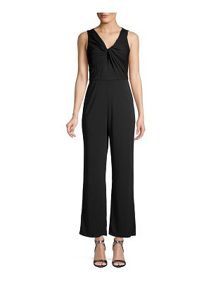Maggy London Twisted Front Jumpsuit