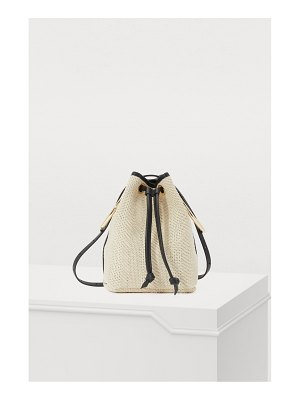 Maison Boinet Bucket bag with rings