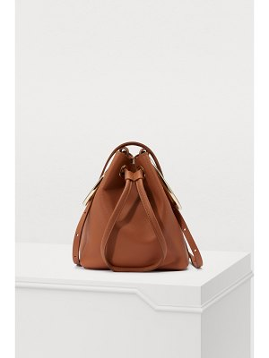 Maison Boinet S bucket bag with rings
