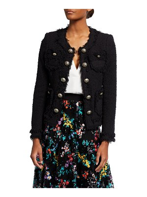 Maison Common Boucle Fitted Jacket