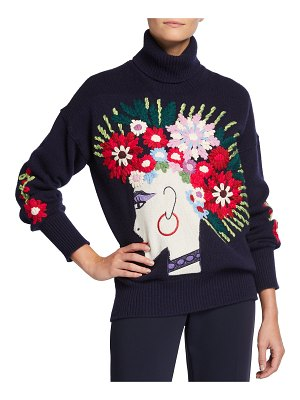 Maison Common Pretty in Punk Wool-Blend Sweater