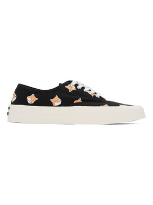 Maison Kitsune allover fox head sneakers