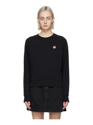 Maison Kitsune fox head sweatshirt