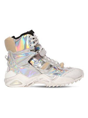 Maison Margiela 50mm destroyed iridescent sneakers