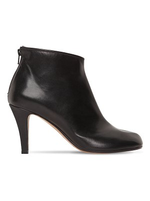 Maison Margiela 80mm tabi leather ankle boots