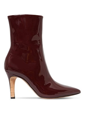 Maison Margiela 90mm patent leather ankle boots