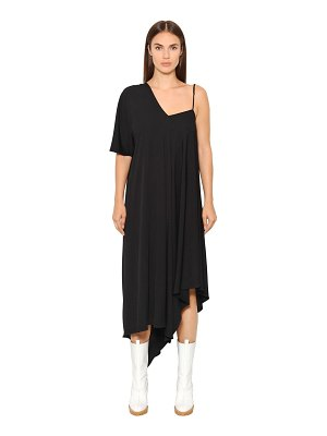 Maison Margiela Asymmetric crepe jersey dress