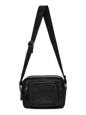 Maison Margiela black leather shoulder bag