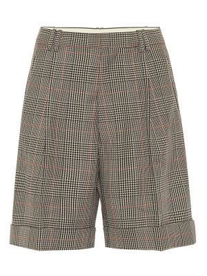 Maison Margiela checked mid-rise shorts