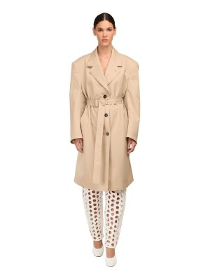 Maison Margiela Cotton canvas trench coat