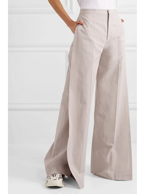 Maison Margiela cotton wide-leg pants