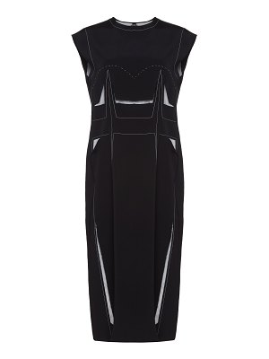 Maison Margiela cut out jersey shift dress