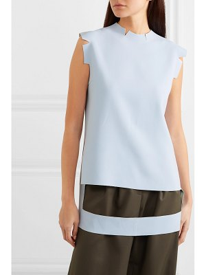 Maison Margiela cutout crepe top