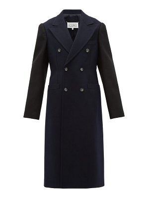 Maison Margiela double-breasted wool overcoat