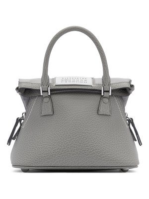 Maison Margiela grey small 5ac bag