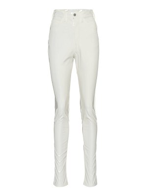 Maison Margiela high-rise vinyl pants