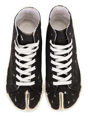 Maison Margiela high top tabi sneakers