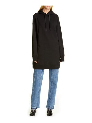 Maison Margiela hooded sweatshirt dress