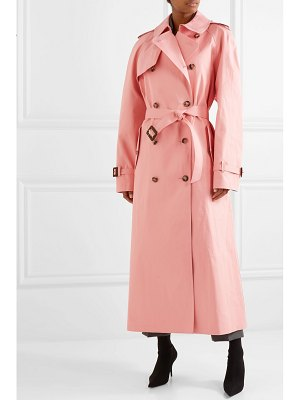 Maison Margiela mackintosh belted cotton trench coat