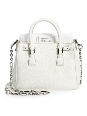 Maison Margiela mini 5ac flap leather shoulder bag