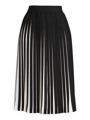 Maison Margiela monochrome pleated skirt
