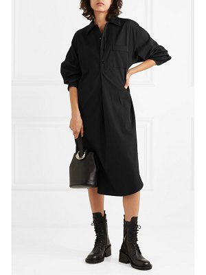 Maison Margiela oversized wool-blend dress