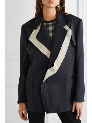 Maison Margiela pinstriped wool blazer