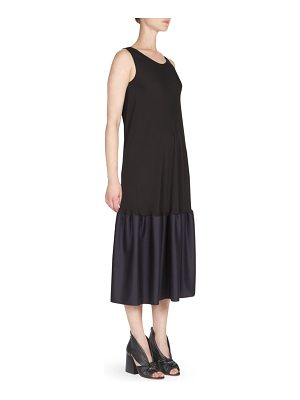 Maison Margiela silk georgette hem dress