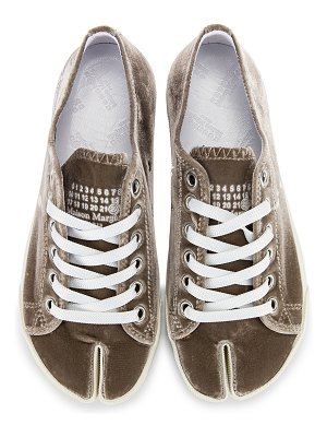 Maison Margiela toe lace up sneakers