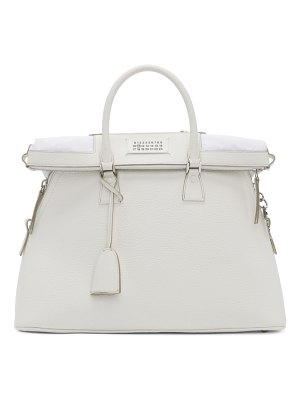 Maison Margiela white large 5ac bag