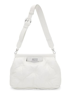Maison Margiela white medium glam slam bag
