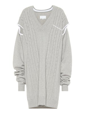 Maison Margiela wool and cotton sweater