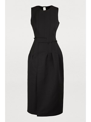 MAISON RABIH KAYROUZ Sleevelss midi dress