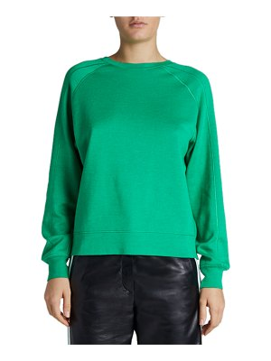 Maison Ullens Reversible Cashmere-Silk Sweatshirt-Style Sweater