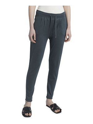 Maison Ullens Cashmere-Silk Track Pants with Drawstring-Waist