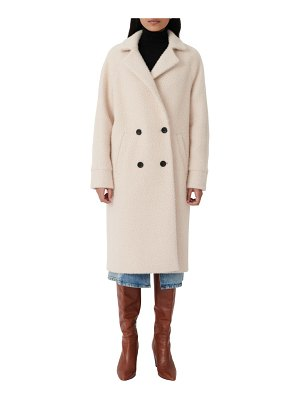 Maje double breasted long coat