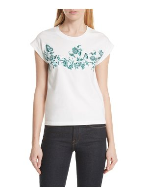 Maje floral embroidered tee