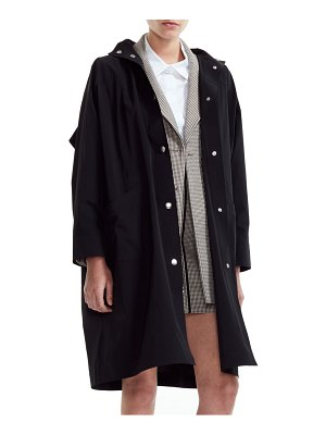 Maje gatox hooded coat