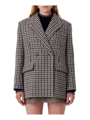 Maje houndstooth jacket