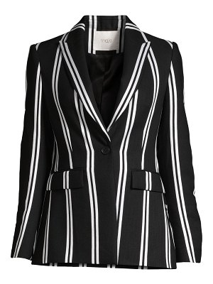 Maje striped blazer