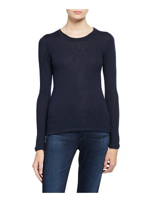 Majestic Cashmere Long-Sleeve Tee