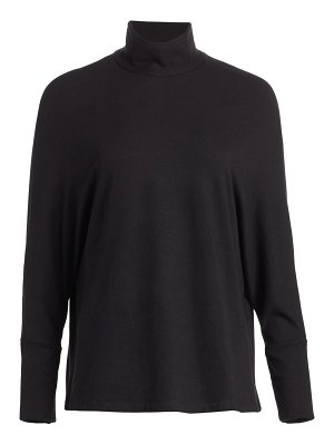 Majestic Filatures relax-fit french terry turtleneck sweater