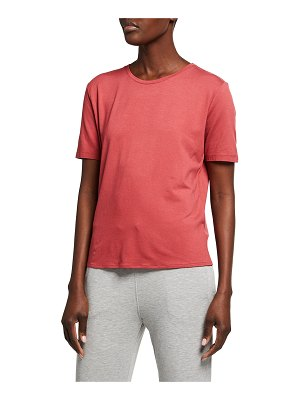 Majestic Filatures Soft Touch Semi-Relaxed Elbow-Sleeve Tee