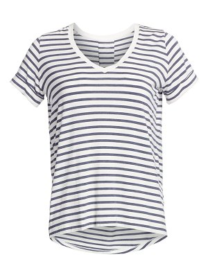 Majestic Filatures soft touch striped tee