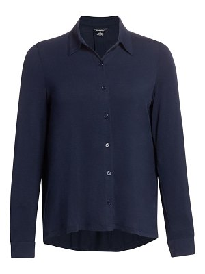 Majestic Filatures spread collar button-down shirt