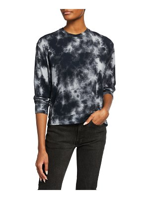 Majestic Filatures Tie-Dye French Terry Crewneck Pullover