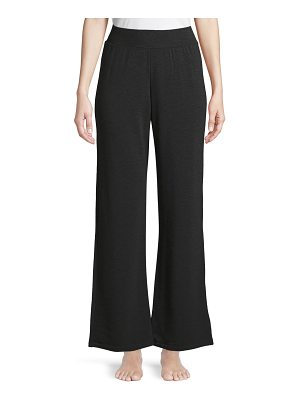 Majestic Paris for Neiman Marcus French Terry Wide-Leg Pants