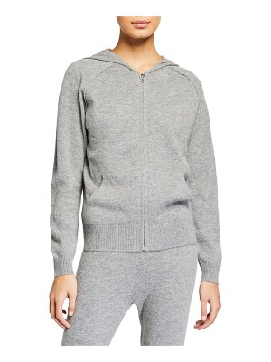 Majestic Zip-Front Sweatshirt with Hood